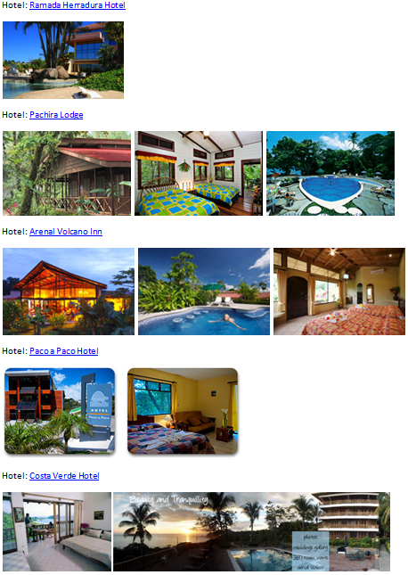 Costa Rica Hotels Overview